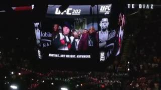 Download UFC 202 Nate Diaz entrance from in the t mobile arena Video