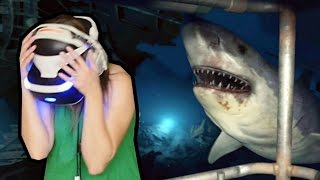 Download PRIMEIRA VEZ DA SAPECA COM REALIDADE VIRTUAL!!! Ocean Descent Demo no PlayStation VR! Video
