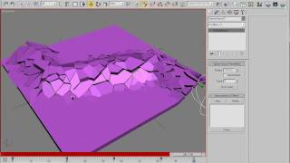 Download Interactive Fractured System Tutorial - No commercial plugins needed - 3dsmax 2009 720p Video