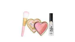 Download Too Faced Sweet Cheeks Luscious Lips 3piece Set Video