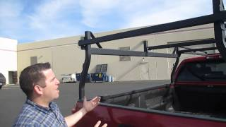 Download Rack-it Truck Rack's New HD Square Tube Rack For Pickups #2 Video