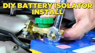 Download How To Install a Battery Isolator (EASY & CHEAP!) Video