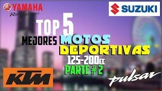 Download Top 5: Mejores motos DEPORTIVAS 2016-2017 (125cc-200cc) PARTE#2   BLazeR9 Video