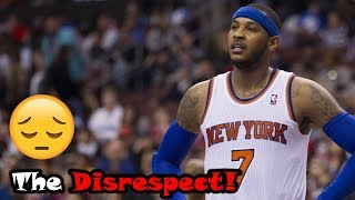 Download Carmelo Anthony's Career Gets Disrespected WAY Too Much! Video