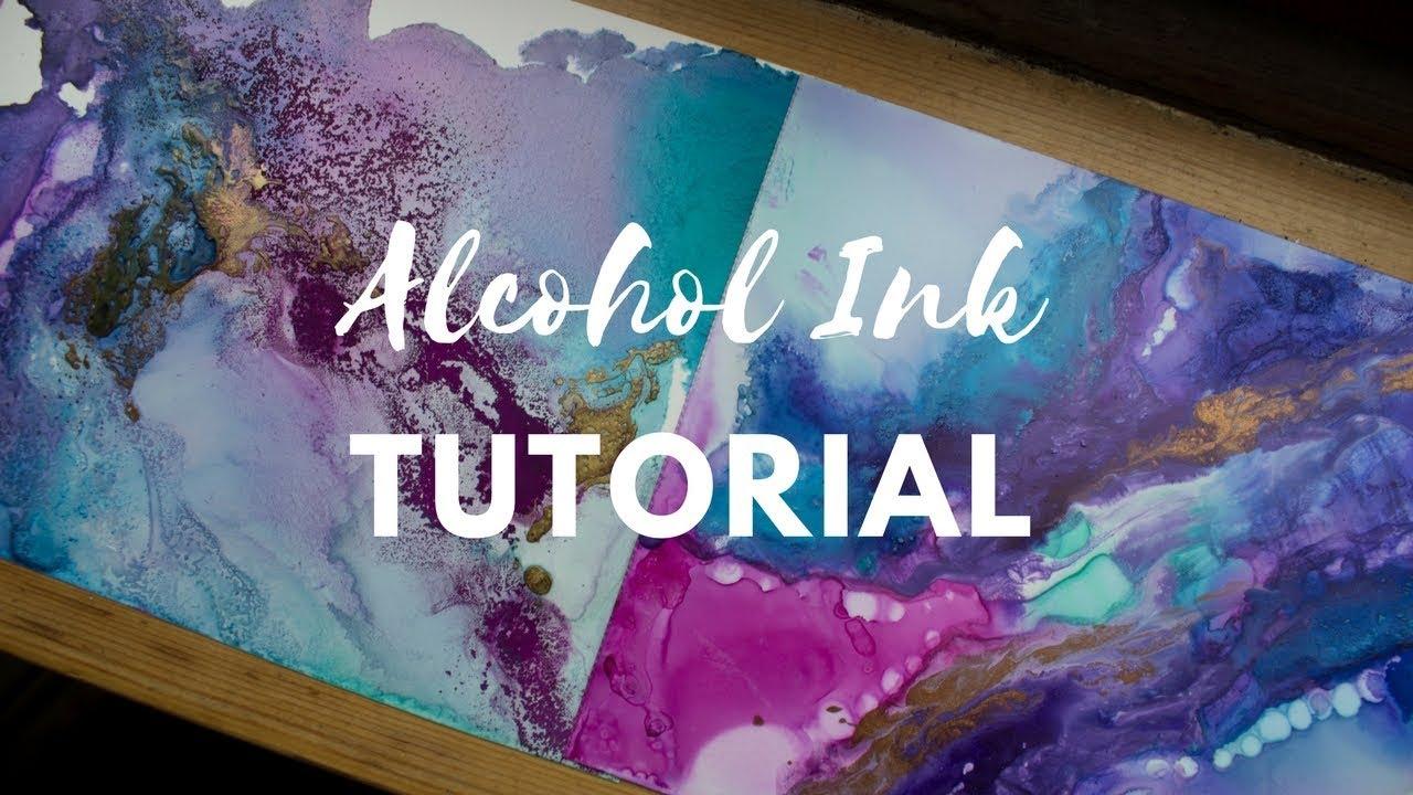 Stream tutorial using alcohol inks 425570 on akefk tutorial using alcohol inks baditri Images