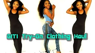 Download GITI Try-On Clothing Haul Video