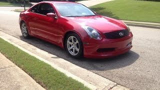 Download G35 Coupe Stillen Cold Air Intake Before and After Video