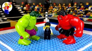 Download Hulk vs Red Hulk 💥 lego Superhero 🔴 Lego Stop Motion Animation Video