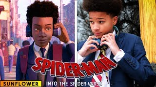 Download Sunflower - Spiderman: Into the Spider Verse - in real life Video