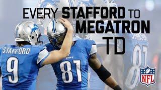 Download Every Matt Stafford to Calvin Johnson Regular Season TD! | #CountdownToKickoff | NFL Highlights Video