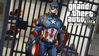 Download GTA 5 PLAY AS A COP MOD - CAPTAIN AMERICA!! Captain America Police Patrol! (GTA 5 Mods Gameplay) Video