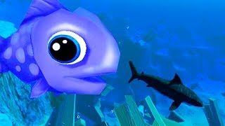 Download GOLIATH GUPPY THAT HUNTS AND EATS SHARKS? - Feed and Grow Fish Update Gameplay Video