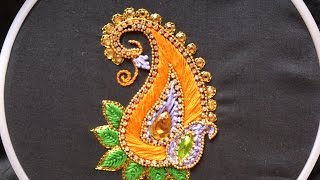 Download Hand embroidery .Aari style embroidery for ghagras, dresses, sarees and blouses. Video