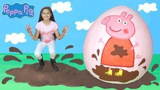 Download Peppa Pig -Peppa Pig Muddy Puddles & Camping Holiday! Peppa Pig Toys -Peppa Pig English Episode PP4 Video