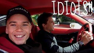 Download 2 IDIOTS IN A FERRARI!! Video