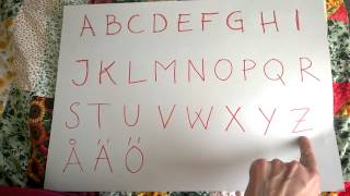 Download Svenska 1 Alfabetet [Swedish Alphabet] Video