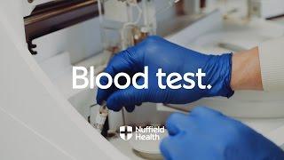 Download Blood Test Procedure   Nuffield Health Video