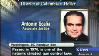 Download USSC District of Columbia V. Heller Oral Arguments Video