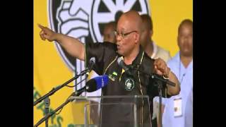 Download President Zuma addresses ANC Conference Video