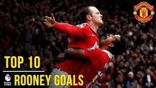 Download Wayne Rooney's Top 10 Premier League Goals | Manchester United Video