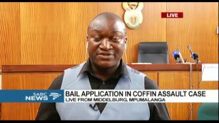 Download State opposing bail in the coffin assault case: Mweli Masilela Video