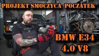 Download BMW E34 V8 Smoczyca łysego. Reanimacja serca, początek projektu. Video