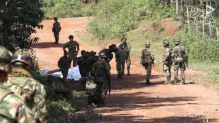 Download Video: ataque de las Farc en el Cauca deja diez militares muertos Video