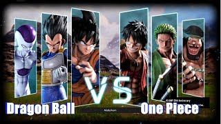 Download Jump Force - Dragon Ball vs One Piece (Goku Vegeta Frieza vs Luffy Zoro Blackbeard) Video