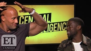 Download Dwayne Johnson And Kevin Hart Compare Muscle Size Video