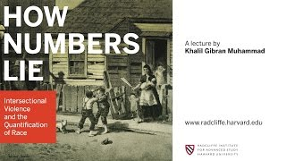 Download Khalil Gibran Muhammad | How Numbers Lie || Radcliffe Institute Video