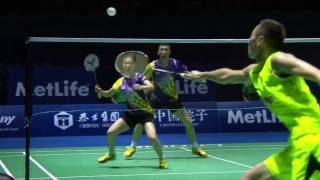 Download Beautiful Mixed Doubles Badminton!!! Video