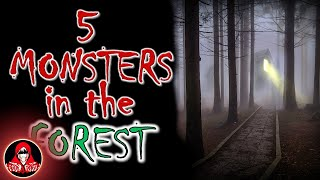 Download 5 REAL Monsters in the Forest - Darkness Prevails Video