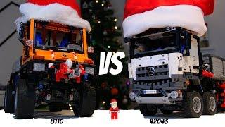 Download Christmas special: Lego 8110 Unimog VS 42043 Arocs Video