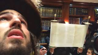 Download Satmar Rebbe Attends Hachnosas Sefer Torah InR' N. Greenfeld's House Video
