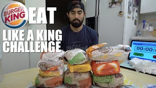 Download BURGER KING EAT LIKE A KING CHALLENGE | 5,533 CALORIES Video