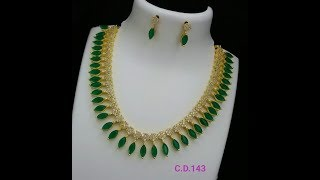 Download Ruby Necklace set Indian Jewellery In Gold|| book now||LIFESTYLE Video