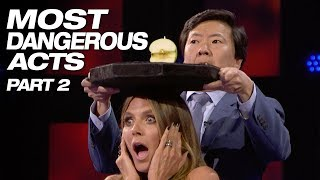 Download These Talents Are Crazy And Dangerous - America's Got Talent 2018 Video