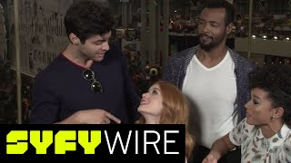 Download Shadowhunters Cast Geek Out Over New Couplings and Season 3 | New York Comic-Con 2017 | SYFY WIRE Video