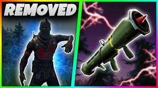 Download 7 MORE THINGS That Have Been REMOVED From Fortnite Battle Royale! | Guided Missile,OLD Dance! Video