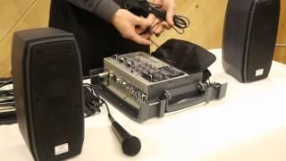 Download Peavey Messenger Portable 100 Watt Powered PA System w/ Speakers, Mic/Mixer/Case   AudioSavings Video