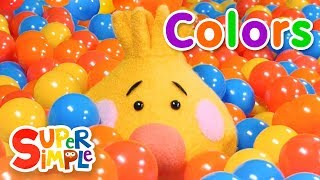 Download Super Duper Ball Pit | Learn About Colors | Green, Purple & Orange Video