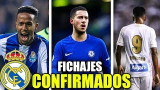 Download LOS FICHAJES CONFIRMADOS DEL NUEVO REAL MADRID 2019/20 | ¿QUIENES SON? Video