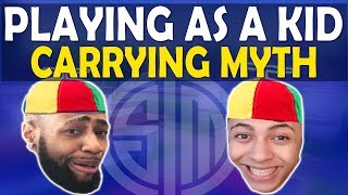 Download DAEQUAN PLAYS AS A KID AND CARRIES MYTH - (Fortnite Battle Royale) Video