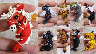 Download Studio Ghibli Inspired Dragons Collection | Polymer Clay & Resin Creations Update Video