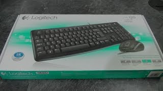 Download Logitech mk120 Keyboard & Mouse - Unboxing & first look Video