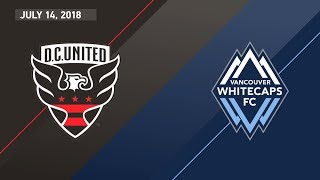 Download HIGHLIGHTS: D.C. United vs. Vancouver Whitecaps FC | July 14, 2018 Video