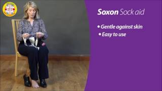 Download Soxon - Helping You Put On Socks - Dressing Sock and Stocking Aid Hospital Direct Video
