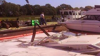 Download Boot slippen, versenken und bergen an der Oder - Boat slippen und Fails Video