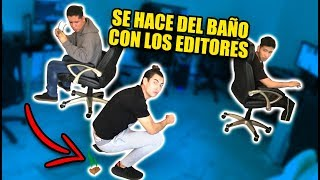 Download BROMA SE HACE DEL BAÑO EN MEDIO DEL TRABAJO! *mira su reaccion* Video