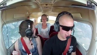 Download Zero G push over with two girls Awesome reaction! Video
